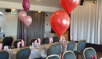 Idea para decorar un restaurante para el 40 cumpleaños