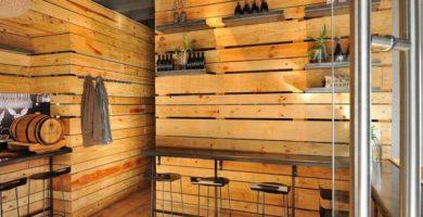 Cómo decorar un restaurante con palets